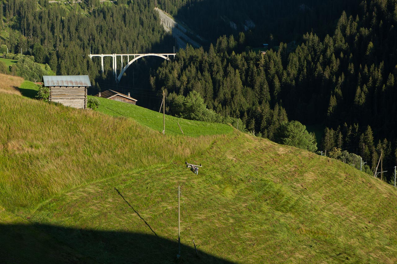 viadukt bei langwies