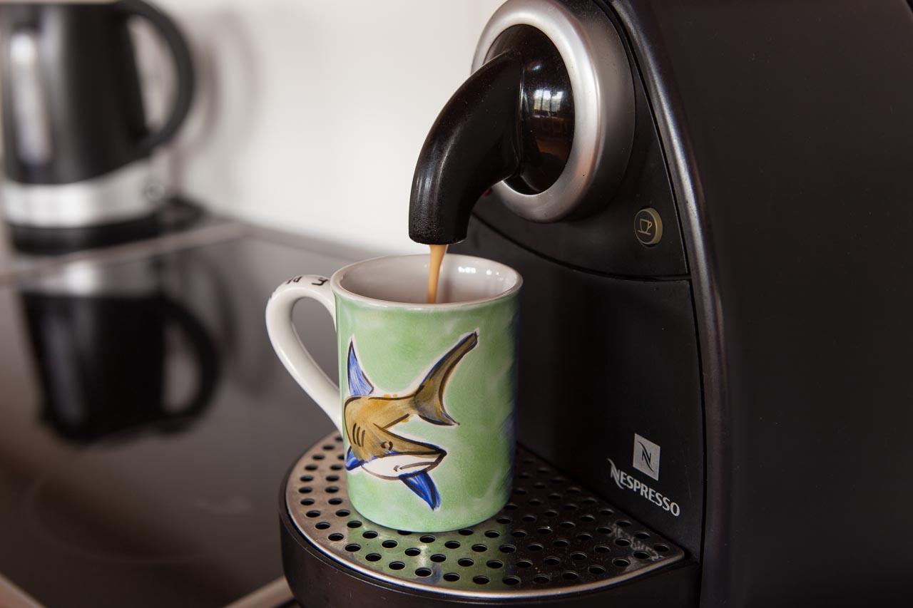 wohnung küche nespresso